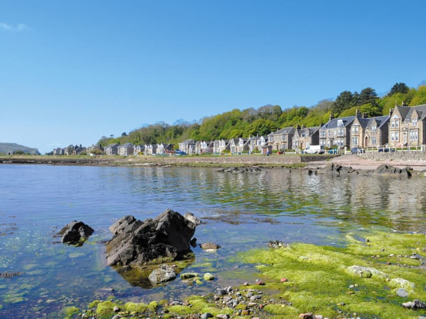 The seafront at Millport, Isle of Cumbrae