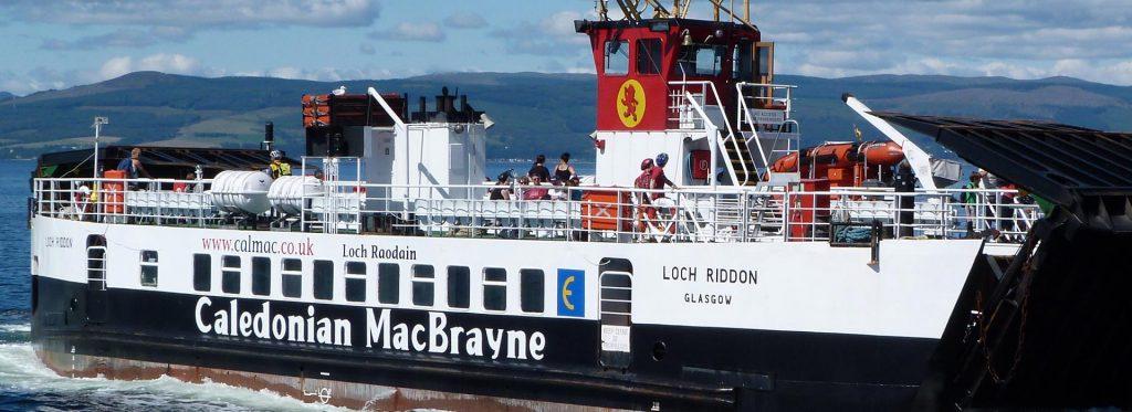 CalMac Ferry to Cumbrae